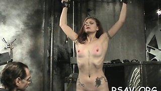 ballgagged bitch likes bdsm extreme
