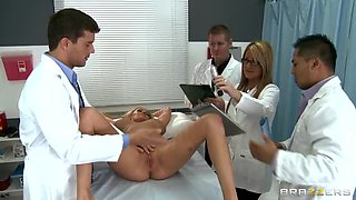 Blonde Hottie Zoey Holiday Has The Best Anal Pounding From Her Doctor
