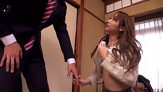 Kurea Hasumi in Hot Spring Lewd Young Wife part 1