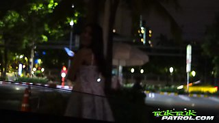 Scorchin' hot Thai babe services horny tourist with wild mouth and ass