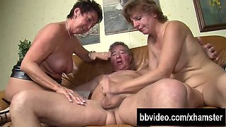 bisexual German mom fucked in a threesome