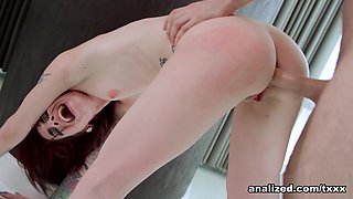 Sheena Rose Gets ANALIZED - Analized