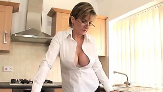 Adulterous english milf lady sonia showcases her monster boo