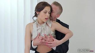 Nasty secretary gets nailed hardcore by her horny boss
