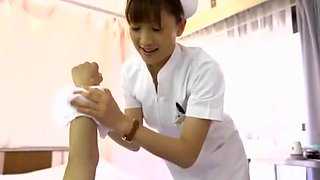 Fabulous Japanese model Akari Satsuki, Harumi Asano, Airi Misora in Best POV, Nurse JAV movie