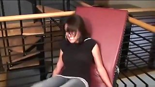 Tickle Abuse - Sexy Syrian Tickled by Brooke