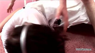 Teenyplayground - Busty brunette teen ass fucked by older