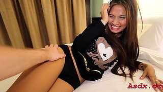 Delectable oriental girl gets screwed hardcore