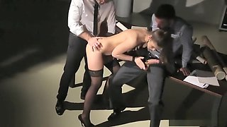 Susan Ayn Hardcore DP For The Young Secretary HD Porn