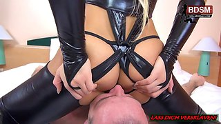 BDSM Latex Teen - erster domina Besuch - AMATEUR  FETISH