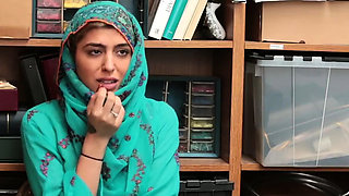 Pregnant wife caught cheating Hijab-Wearing Arab Teen